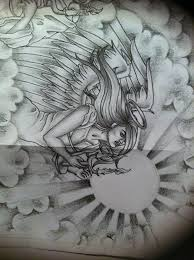 Tattoo Ideas Of Angels 28 Best Angel And Clouds Tattoo Designs Images On Pinterest