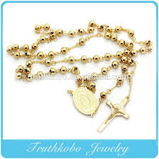 catholic rosary necklace mexican gold catholic rosary necklace buy mexican rosary