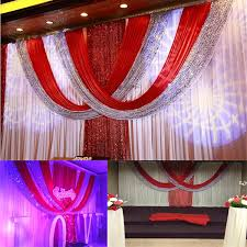 wedding backdrop drapes 3 6m silk wedding backdrop wedding curtain backdrop wedding