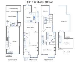 House Floor Plans And Prices San Francisco Victorian Floor Plan Nest Granny Unit