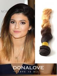 ombre extensions two colors ombre indian remy clip in hair extensions od012 clip
