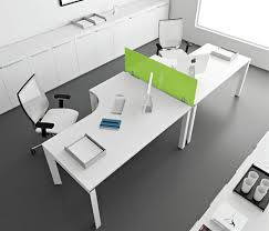 Modern White Office Table Plain White Office Desk Best Home Furniture Decoration