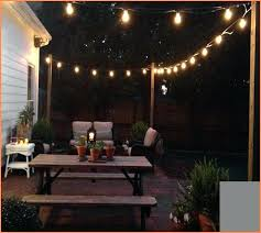 String Lighting For Patio Outdoor Garden String Lights Outdoor Connectable Garden String
