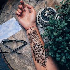 27 superb and cute henna tattoos designs sheideas
