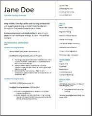 Nurse Assistant Resume Sample by Certified Nursing Assistant Resume Examples Samples Free Edit With