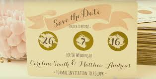 diy save the dates how to make an excellent diy scratch save the date card