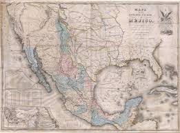 Map Of Mexico And Texas by