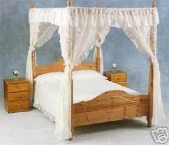 Poster Bed Curtains Wonderful Looking Four Poster Bed Curtains Net Curtain Lace Four