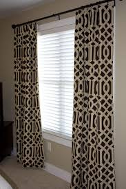 Brown Patterned Curtains Sle Sale 102 Single Imperial Trellis Drapery Panel Java