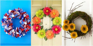 summer wreath summer wreath ideas wreath crafts for summer