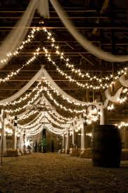 wedding lights best 25 barn wedding lighting ideas on country
