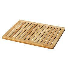 amazon com oceanstar fm1163 bamboo floor and shower mat home