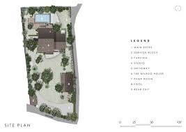 House Site Plan by Gallery Of The Mango House Studio Pka 21