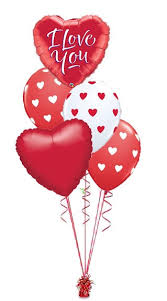 valentines ballons smiley heart s balloon bouquet wham bam balloon