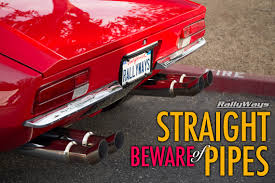 Vintage Ford Truck Exhaust - exhaust system advice u2013 beware of straight pipes
