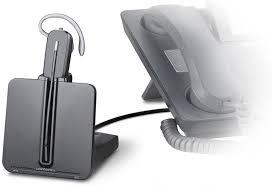 bluetooth adapter for desk phone amazon com plantronics cs540 convertible wireless headset cell
