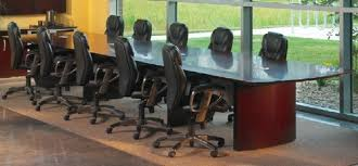 Napoli Reception Desk 30 Ft Conference Table From Mayline