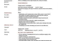 Sample Electrical Engineering Resume Download Electrical Project Engineer Sample Resume