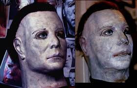 mike myers halloween mask old screen used styled original halloween mask michael myers net