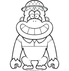 Magnificent Various Orangutan Coloring Pages Print Page Black Coloring Pages For High