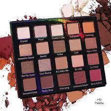 Shoo Hg hg eye shadow palette violet voss cosmetics