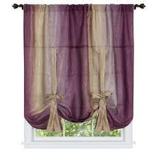 aubergine curtains u0026 drapes window treatments the home depot