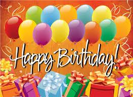 happy birthday postcards happy birthday balloons postcard pc3858 harrison greetings