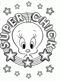 tweety bird coloring pages
