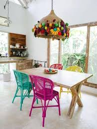 Funky Dining Chairs Funky Dining Chairs Room Traditional With Wall Mural Style