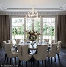 Mansion With Cinema Pool And  Bottle Cellar On Sale For - Formal round dining room tables