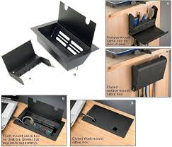 Cable Management Computer Desk Hide The Cables That Clutter Your Desk Toolmonger For The Home