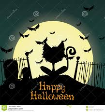 halloween cat silhouette background halloween witch silhouette free here