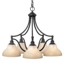 5 Light Bronze Chandelier Bronze Chandeliers Easy Home Concepts
