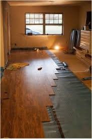 diy laminate flooring existing carpet our retail space