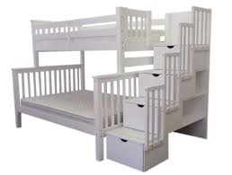 Twin Loft Bed With Stairs Twin Bunk Beds With Stairs Bedroom Pretty Wood Bunk Beds With