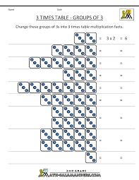 3 times table worksheets grouping gif 1 000 1 294 bildepunkter