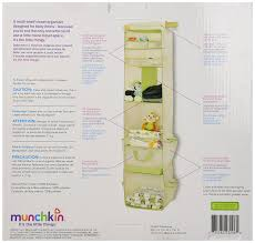 amazon com munchkin 6 shelf closet organizer cream green