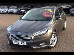 used ford focus tdci used ford focus 1 5 tdci 120 zetec 5dr grey 2016