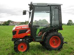 cab for sub compact kubota tractors b20 bx and gr agrital
