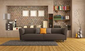 interior stylish design modern couch living room library decor