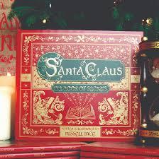 personalised book of santa secrets by letteroom