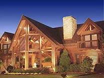Jim Barna Model Home Commercial Division Dream Log Home Log Cabin Homes For Sale And