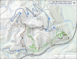 Mt Washington Map by Tiger Mountain