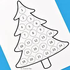 countdown to halloween calendar christmas countdown advent calendar the resourceful mama