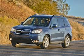 subaru ute 2014 subaru forester 2 5i premium manual first test motor trend