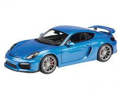 porsche blue porsche cayman gt4 blue metallic 1 18 edition 1 18 car