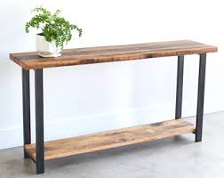 Metal Entry Table Console Tables Etsy