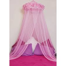 Pink Canopy Bed Feather Boa Canopy Bed Bath Beyond
