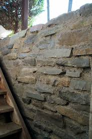 slip form slipform masonry stone wall