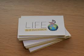 review luxury business cards from aura print life in a rucksack